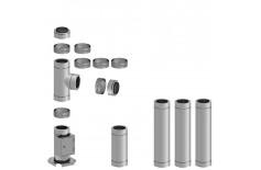 Komínová sestava DWeco průměr 160mm délka 4,4m