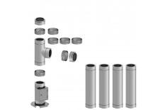Komínová sestava DWeco průměr 200mm délka 4,9m
