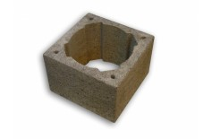 Komínová tvárnice pro průměr 140-200mm, rozměr 360x360x240mm